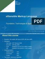 00 - XML - Course Info