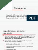 Carguío y Transporte trabajo