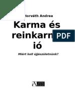Horvath Andrea Karma Es Reinkarnacio