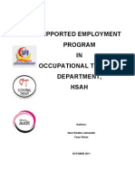Supported Employment Program (Emellia)