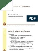 Databases+ +I