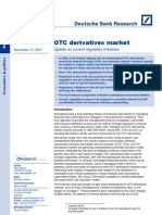 OTC Current Regulatory Initiatives Nov 2011
