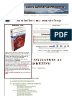 Cours Complet de Marketing - Piton