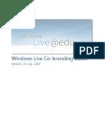 Live@Edu Co-Branding Guide v2.3
