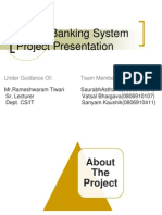 BAnking Project Ppt