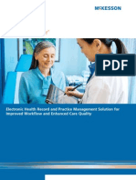 Electronic Health Record and Practice Management Solution for Improved Workflow and Enhanced Care Quality