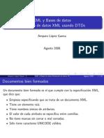 XML y Bases de Datos, Modelado de Datos XML Usando DTDs