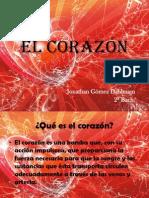 El corazón Presentación Jonathan Gómez