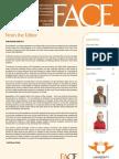 FACE Newsletter Volume 4 October 2011