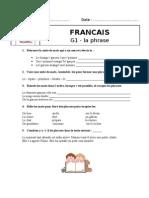 grammaire CE1 prog