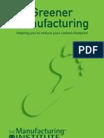 Greener Manufacturing Handbook(3)