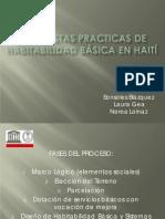 Propuestas practicas de HaB en haití