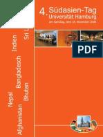 4. Suedasientag - Uni Hamburg (18.11.2006) - Flyer (German)