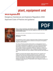 HSE - Design of Plant, Equipment and Workplaces