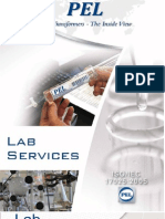 PEL Oil Lab Services Brochure