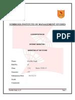Mandhir Singh a 25 83 Dissertation Report Submission 2010 1