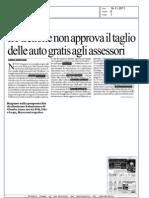 ll Pirellone non approva il taglio delle auto gratis agli assessori - la Repubblica