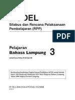 RPP Bahasa Lampung SD 3
