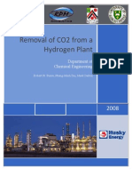 Removal of CO2 in H2 Production