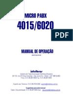 Manual Central Telefonica 6020 Intelbras