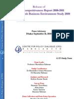 Bangladesh Global Competitiveness Report 2011