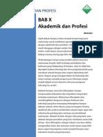 Akademik Dan Keprofesian-PMLDK
