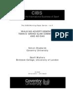 CIBS WP05 Tennis