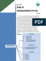 Manajemen Syiar-PMLDK