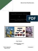 Hazards and Risks Assessment Methods
