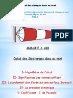 Calcul Des Charges Dues Au Vent - Carte Marocaine Du Vent