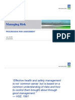 Progressive Risk Assessment