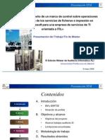 Presentación TFM - Auditoría para el diseño de un marco de control sobre operaciones de administración de los servicios de ficheros e impresión en plataforma Microsoft para una empresa de servicios de TI orientada a ITIL v1.2