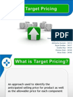Target Pricing Final