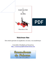 Watchman Nee - A Salvacao Da Alma