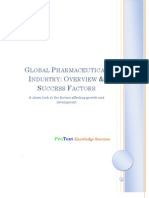Global Pharmaceutical Industry-Overview and Success Factors