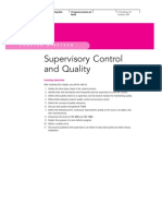 Supervisory Control and Quality