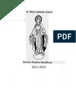 Parent Student Handbook 2011 2012
