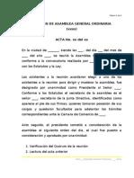Minuta Acta Asamblea Reforma Estatutos