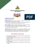 EDUCAÇÃO ALIMENTAR E NUTRICIONAL infantil - ok