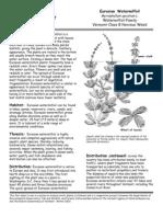2011 European Frogbit Removal Management Plan Appendix Bb