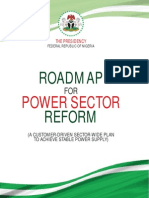 Roadmap for Power Sector Reform in Nigeria