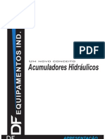 Acumuladores hidraulicos