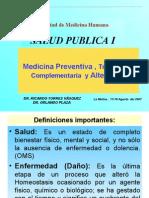 Clase 2 - Medicina Preventiva y Tradicional