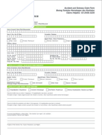 Accident & Health Claim Form