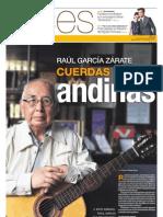 Raúl García Zárate cuerdas andinas