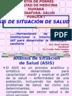 Clase 10 - Analisis de Situacion de Salud (ASIS)