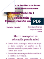 Clase 11 - Comunicacion en Salud