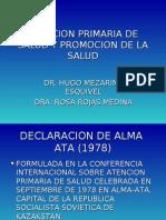 Clase 12 - Atencion Primaria de Salud