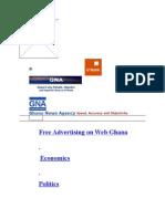 Free Advertising on Web Ghana