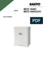 Sanyo MCO-18AIC Incubators